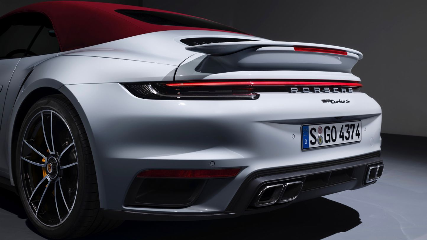 New 911 Turbo S Giltrap Group